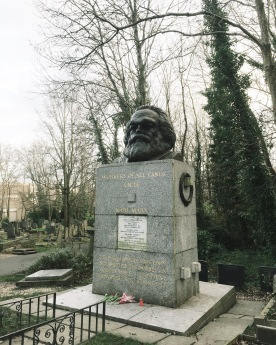 Karl Marx is the most famous resident here